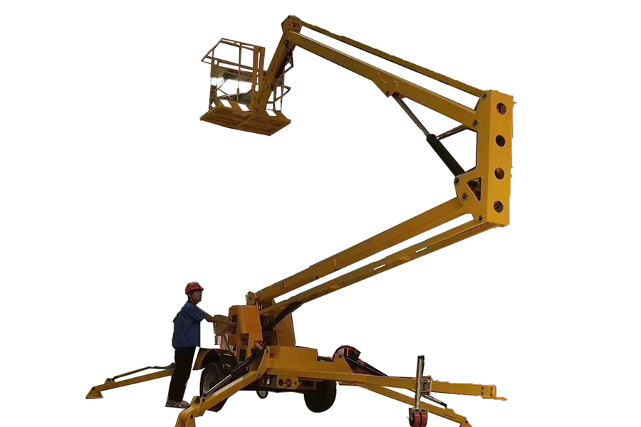 Trailer Mounted Boom Lift-lift arm